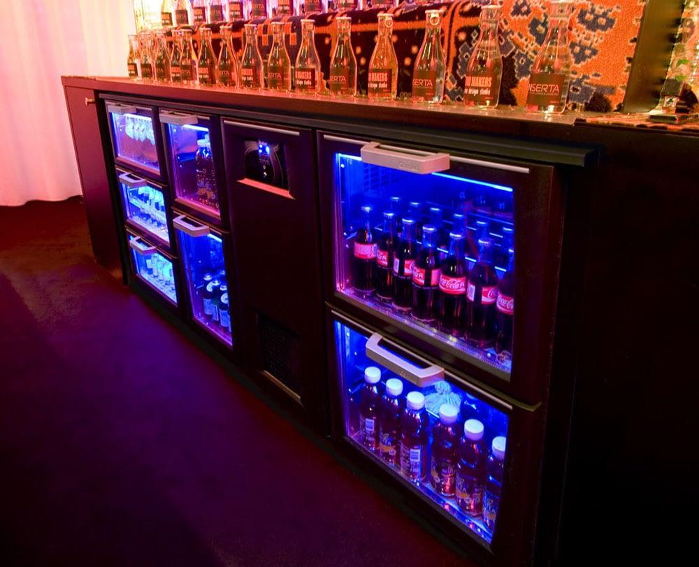 2-door beverage cooler